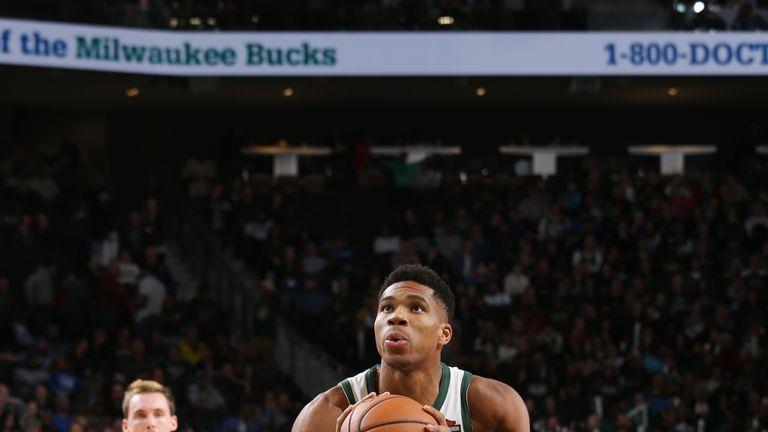 Giannis Antetokounmpo, the Greek Freak - making his way towards