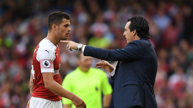Unai Emery dismisses questions about Aaron Ramsey's future