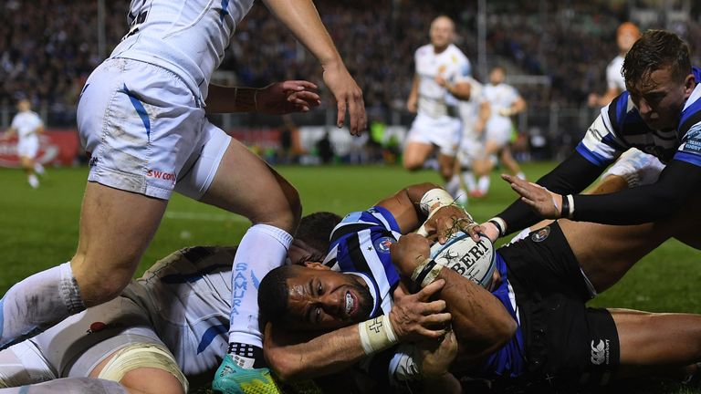 Bath's early season record stands at won two, lost three and drawn one