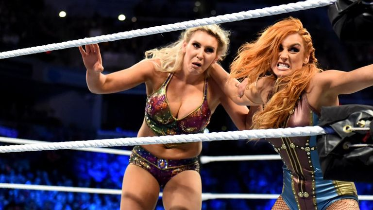 Becky Lynch will face Charlotte Flair in a Last Woman Standing match at Evolution