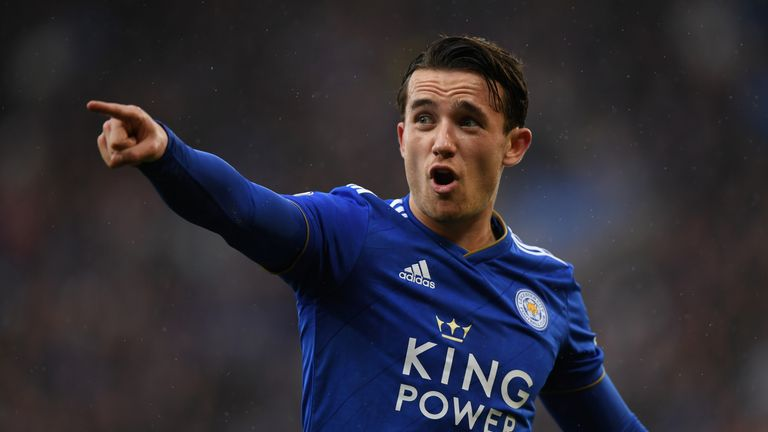Ben Chilwell  called up to England senior squad to replace injured Luke Shaw