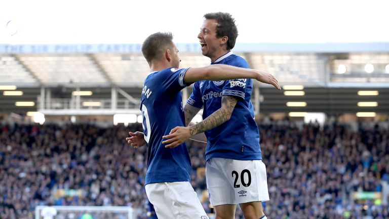 Bernard has made a bright start at Everton