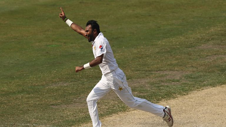 Bilal Asif followed up his six-wicket haul in the first innings with figures of 0-87 in the second