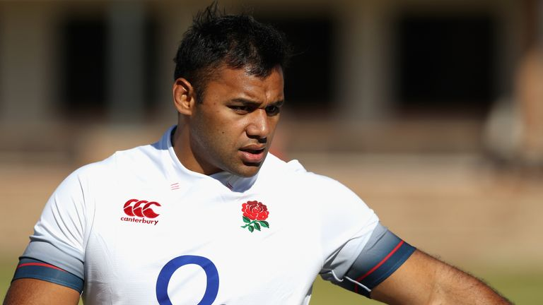 Billy Vunipola has been ruled out of England's autumn internationals with a broken left arm