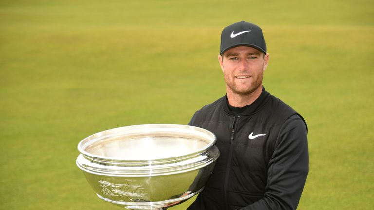 Lucas Bjerregaard secured a dramatic one-shot victory at St Andrews