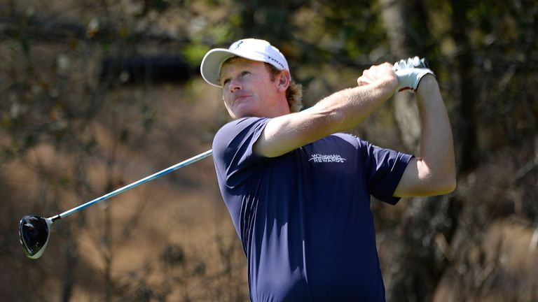 Snedeker shot a round of three-under 69 in testing conditions