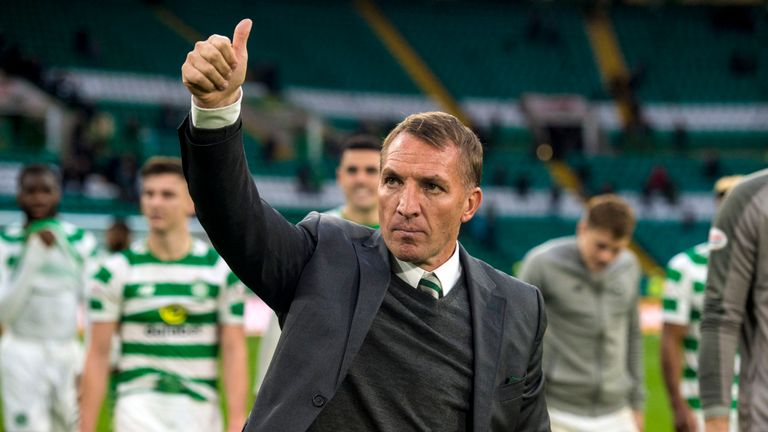 Brendan Rodgers staying upbeat despite another Europa League defeat