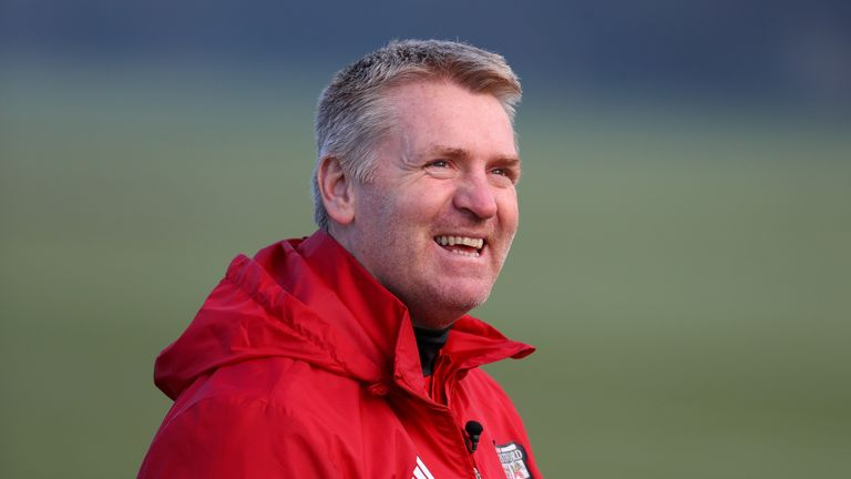 Brentford manager Dean Smith