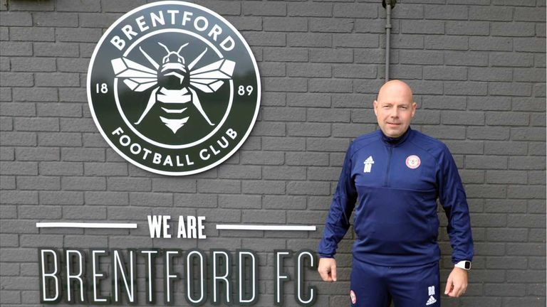 Brian Riemer has joined Brentford (Picture courtesy of Brentford)