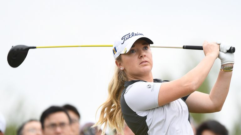Nelly Korda shoots 69 to share 3rd-round lead in Taiwan