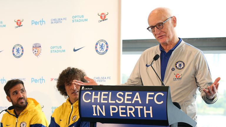 Bruce Buck succeeded Ken Bates as Chelsea chairman in 2003