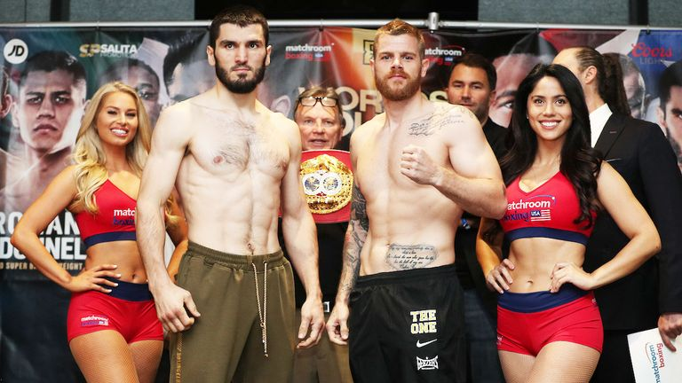 Callum Johnson challenges IBF champion Artur Beterbiev, live on Sky Sports
