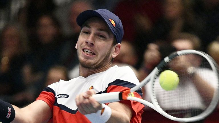 Cameron Norrie failed to take two match points as he went down to John Isner