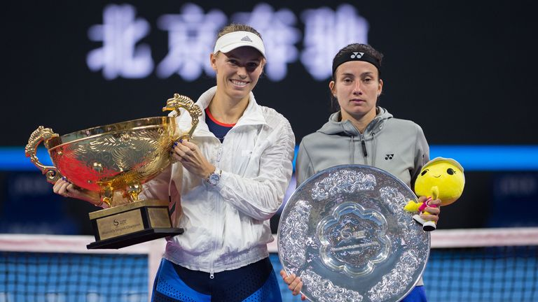 Caroline Wozniacki defeats Anastasija Sevastova to win 2nd China Open title