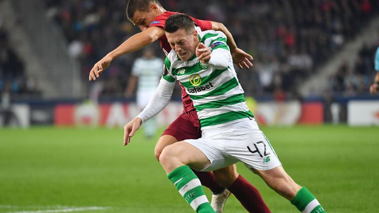 Callum McGregor has filled in for Scott Brown in Celtic's deep lying midfield role during the captain's absence through injury