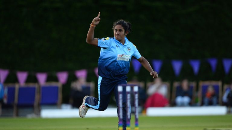 Chamari Atapattu played for Yorkshire Diamonds in the KSL this season