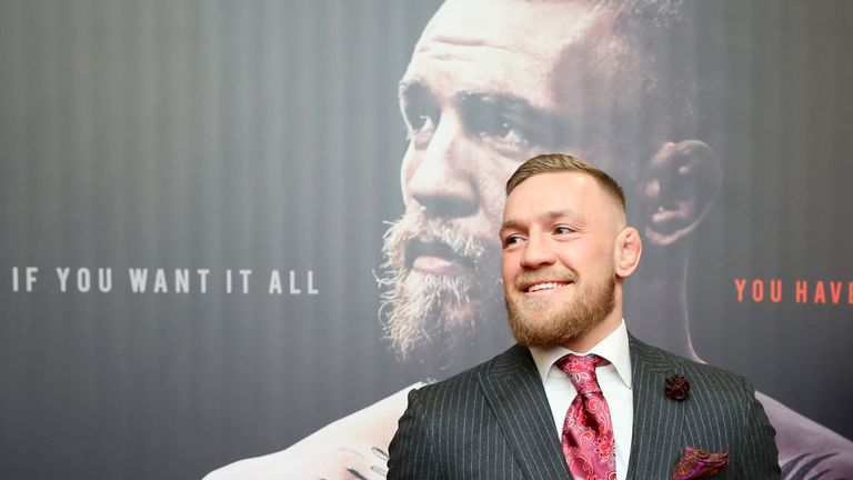 Conor McGregor takes on Khabib Nurmagomedov this weekend