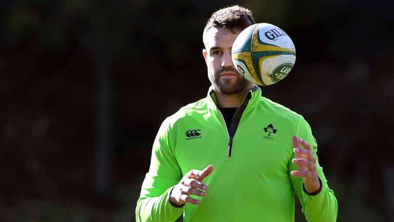 Conor Murray has been with the Irish squad at Carton House