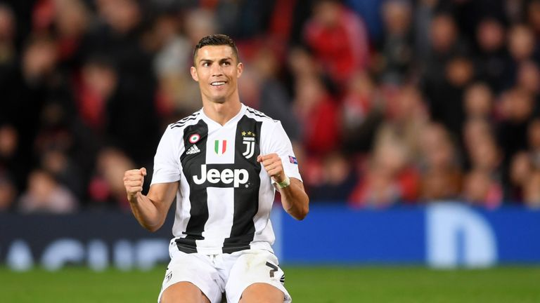 Ronaldo has four goals in his last four games for Juventus since a summer move from Madrid