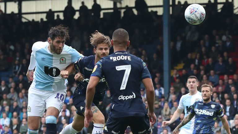 Danny Graham heads Blackburn Rovers into an early lead