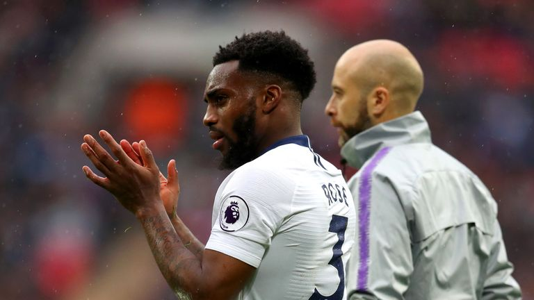 Danny Rose was one of several players who had to withdraw from the England squad with injury