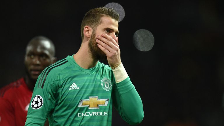 David de Gea spoke exclusively to Sky Sports about his future at Manchester United