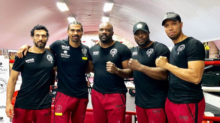 David Haye has been named as Chisora's new manager
