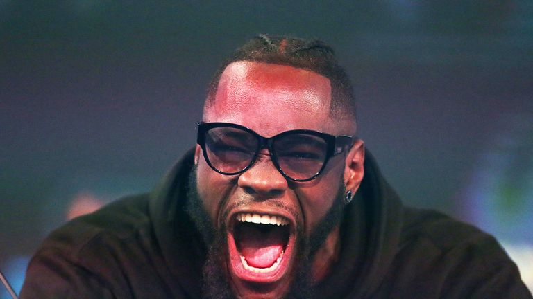 Deontay Wilder remains eager to fight Anthony Joshua