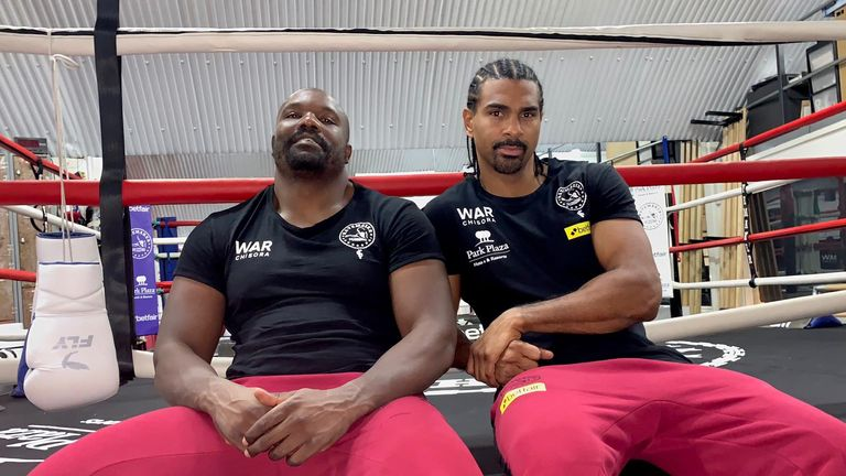 David Haye 'cannot control' Derek Chisora fate in Dillian Whyte rematch | Boxing News |