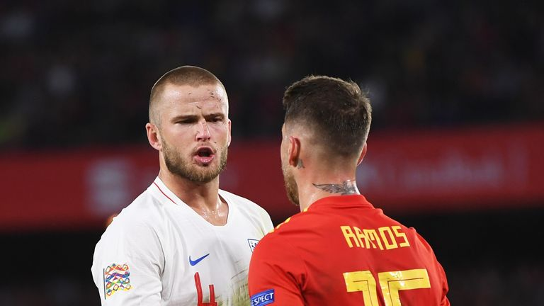 Eric Dier and Ramos