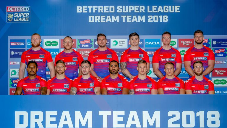 The 2018 Super League Dream Team was unveiled on Monday afternoon