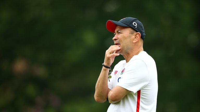 England's head coach Eddie Jones