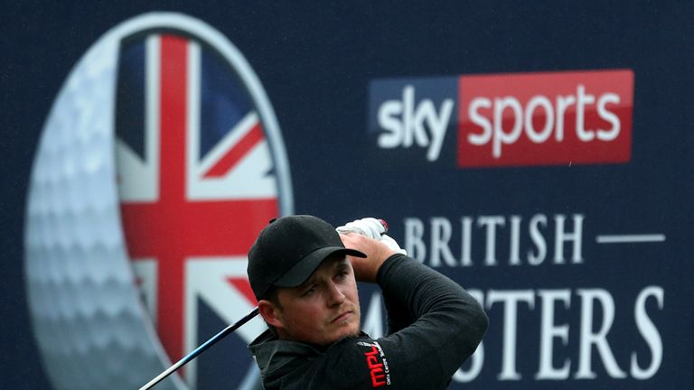 British Masters: Eddie Pepperell wins second European Tour title with two-shot victory