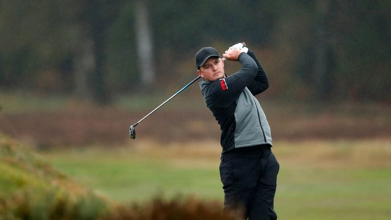 British Masters - Eddie Pepperell overcomes hard conditions to win by two shots