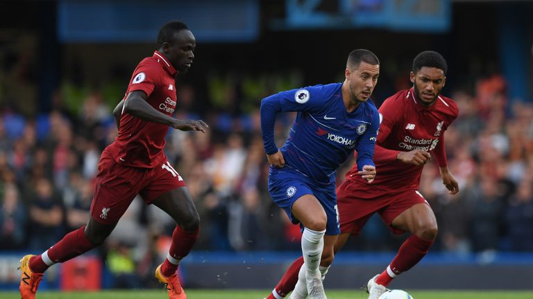 Chelsea ace Eden Hazard names his four favourite Premier League players