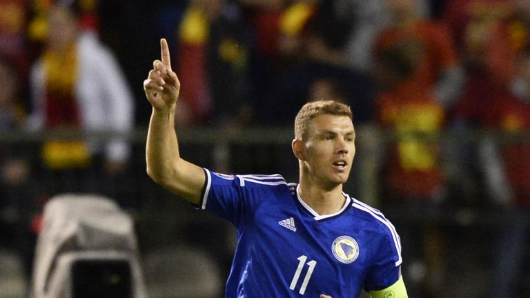 Dzeko has scored over 50 goals for Bosnia-Herzegovina