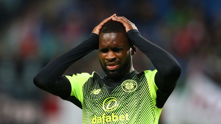 Odsonne Edouard missed a good early chance