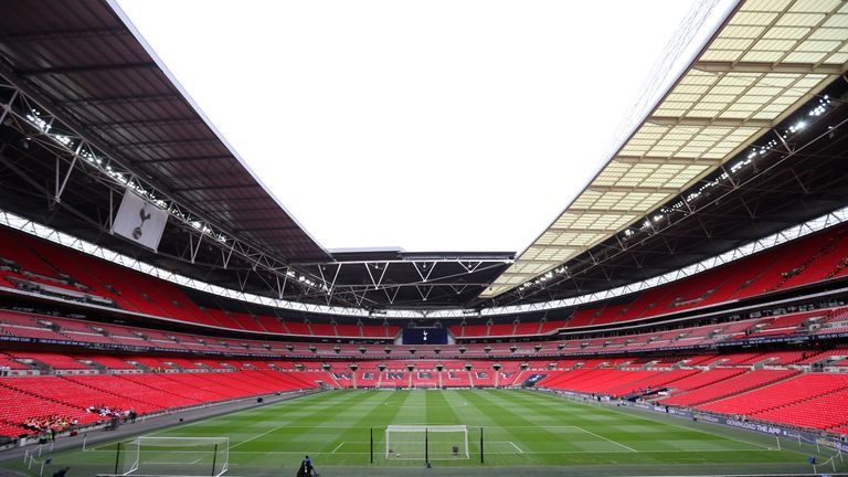 Wembley Stadium was the subject of a £600m offer from Fulham owner Shahid Khan