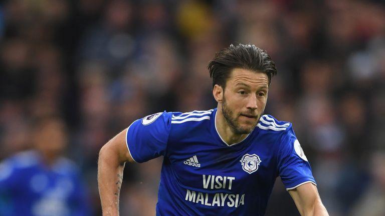 Cardiff midfielder Harry Arter
