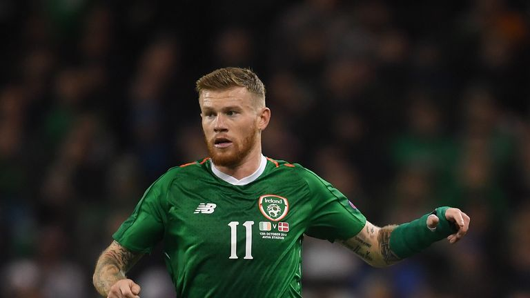 Martin O'Neill says James McClean epitomises the character of his squad