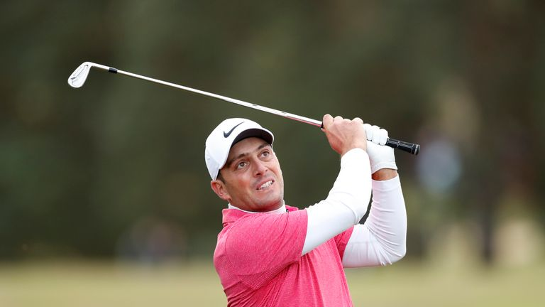 Molinari is making his first appearance since the Ryder Cup