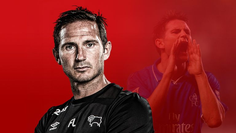 Frank Lampard is making the transition from Chelsea hero to Derby County boss