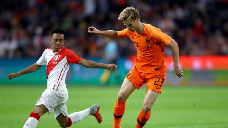 De Jong impressed on his international debut