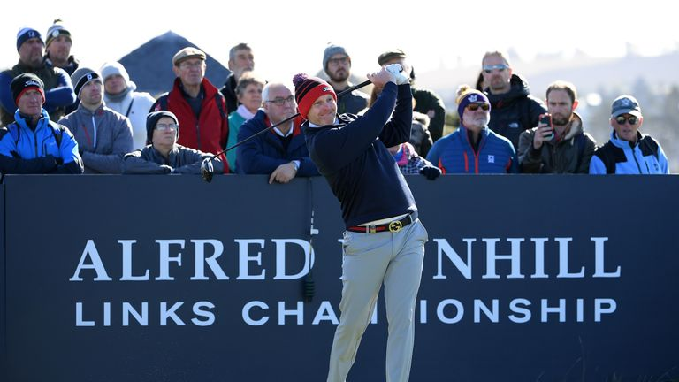 Stephen Gallacher moved up to 76th after the Alfred Dunhill Links Championship