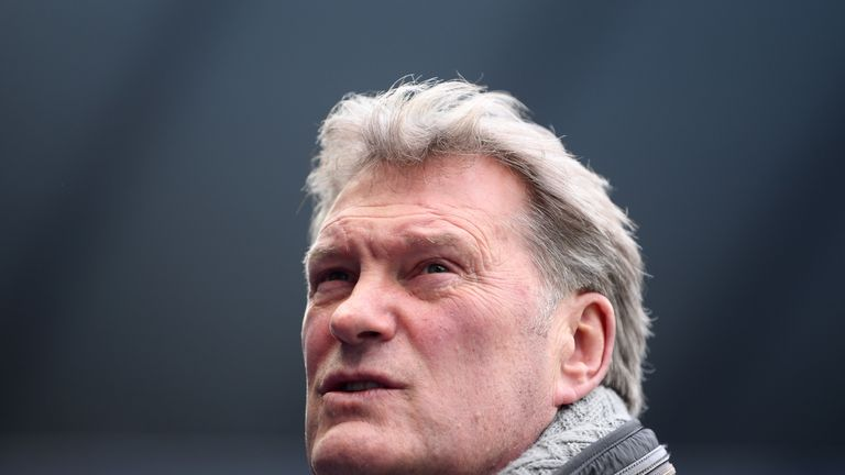 Former England manager Glenn Hoddle 'responding well' after collapsing at TV studio