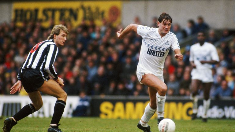 Glenn Hoddle was a player who inspired his team-mates