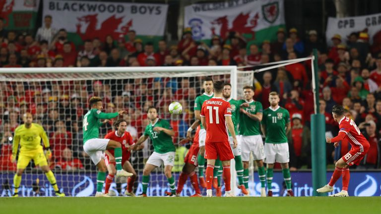Harry Wilson's free-kick settled the contest at the Aviva Stadium