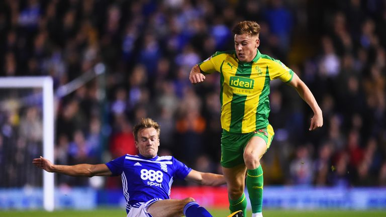 Harvey Barnes scored late to earn West Brom a draw