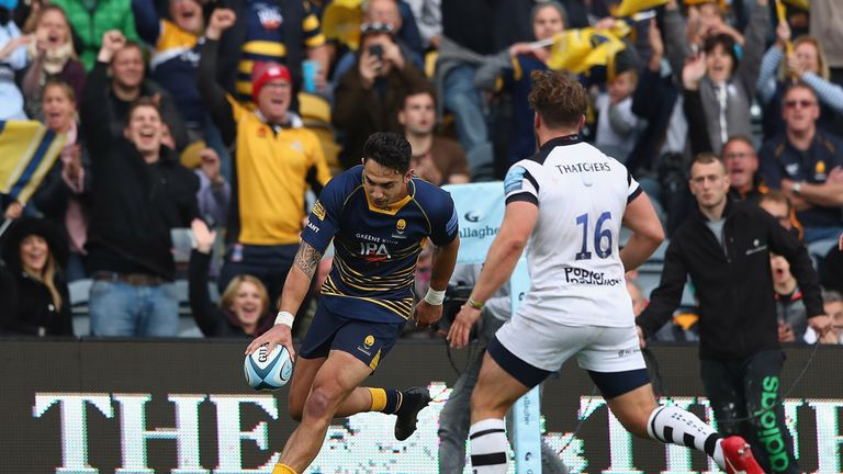 Kiwi Bryce Heem impressed again and scored another Premiership try