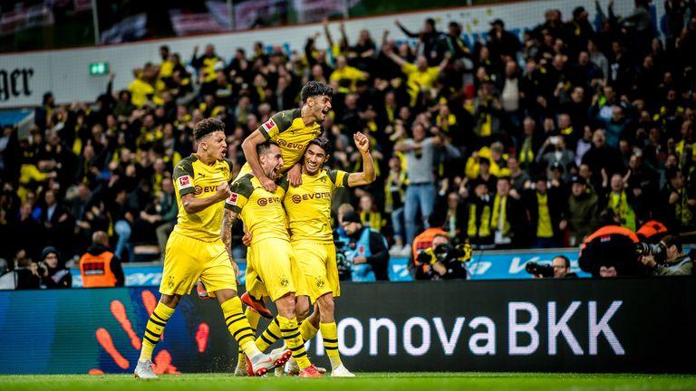 Jadon Sancho has shone for Borussia Dortmund